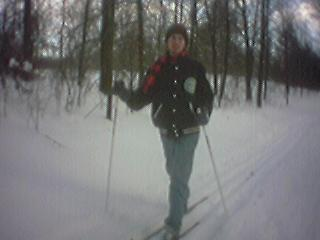 Skiing: Andy