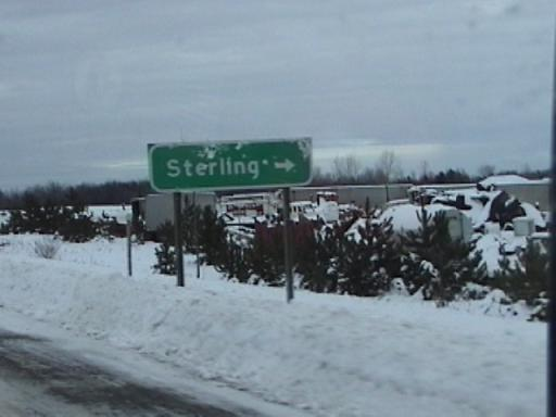 Sterling Exit
